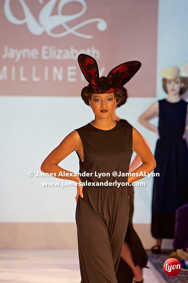 Jayne-Elizabeth Millinery - Birmingham International Fashion Week 06-09-15