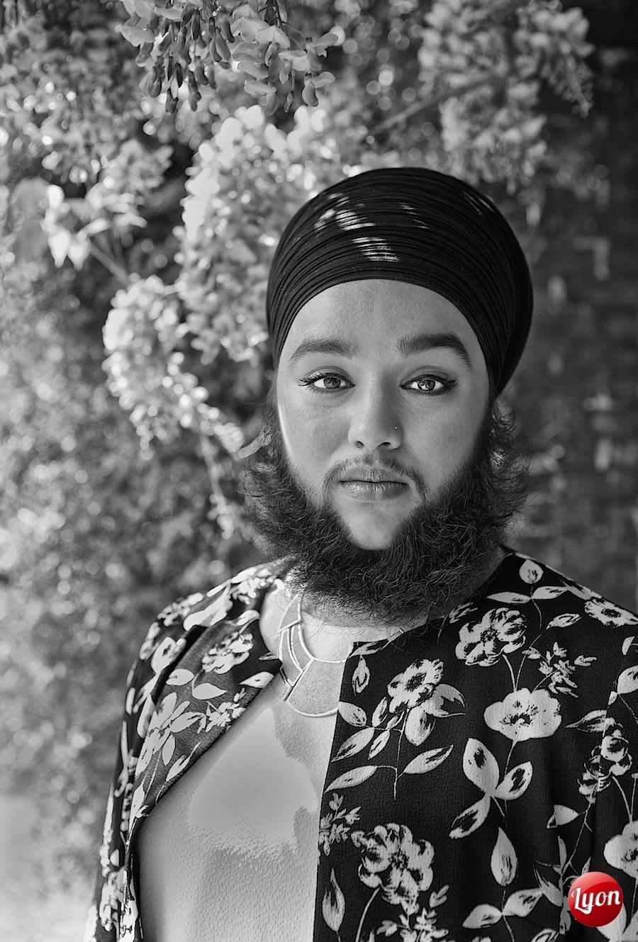 Harnaam Kaur for Models of Diversity in Holland Park 10-05-15 Photography: James Alexander Lyon