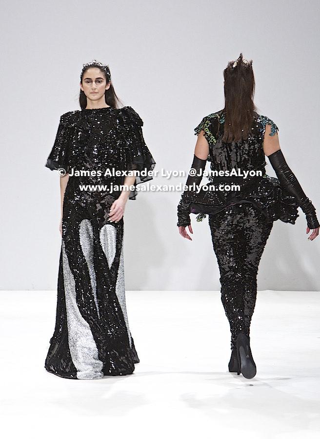 Hellavagirl Catwalk Show - Fashion Scout LFW 2017 20-02-17