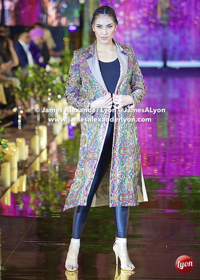 Khushboo by Chanda - India Pakistan London Fashion Show 2017
