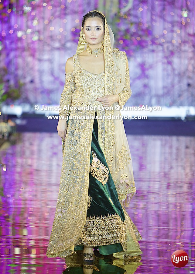 Komal Nasir - India Pakistan London Fashion Show 2017