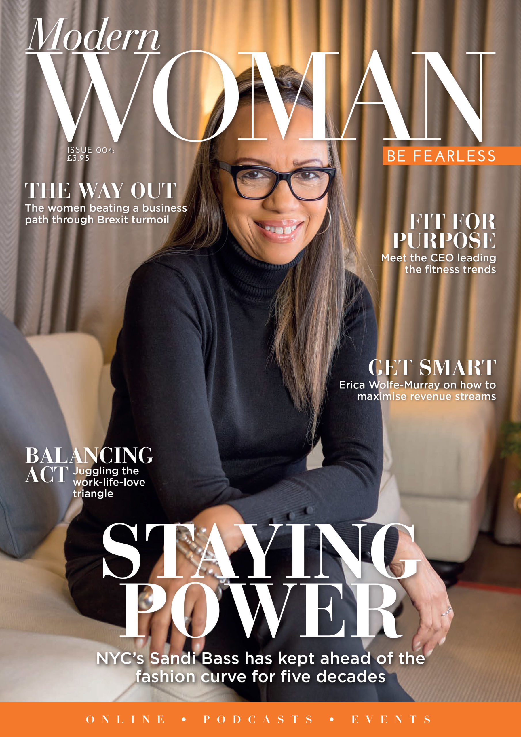 Front Cover Modern Woman Issue 4